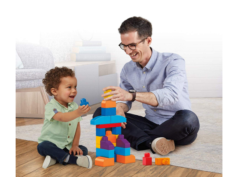 Mega Bloks First Builders is specially designed for toddlers