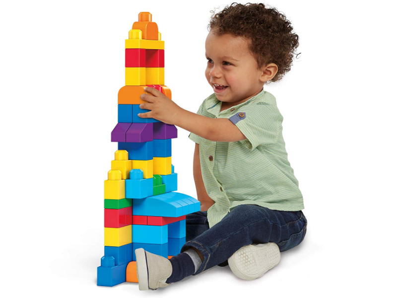 Mega Bloks First Builders helps with logic development