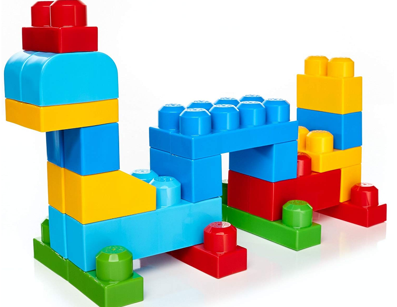 Mega Bloks First Builders offers endless building possibilities