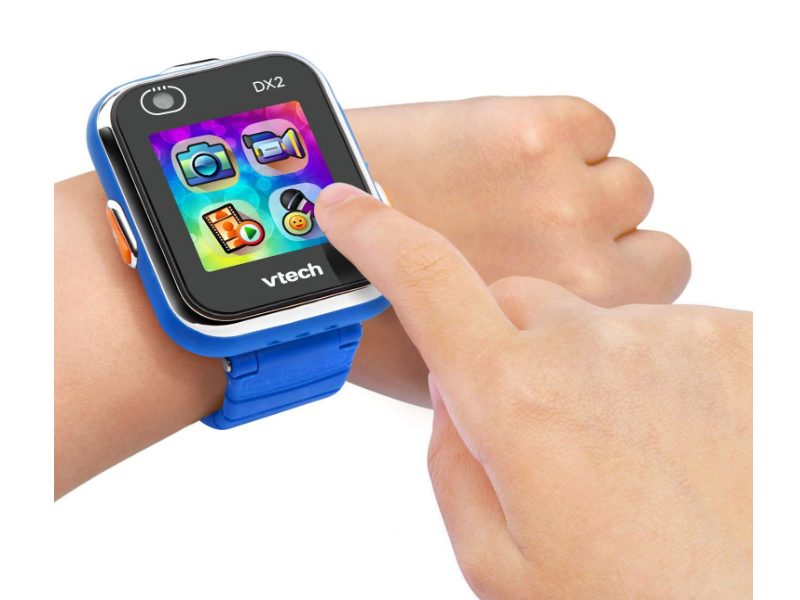 The VTech Kidizoom Smartwatch comes with easy to use apps