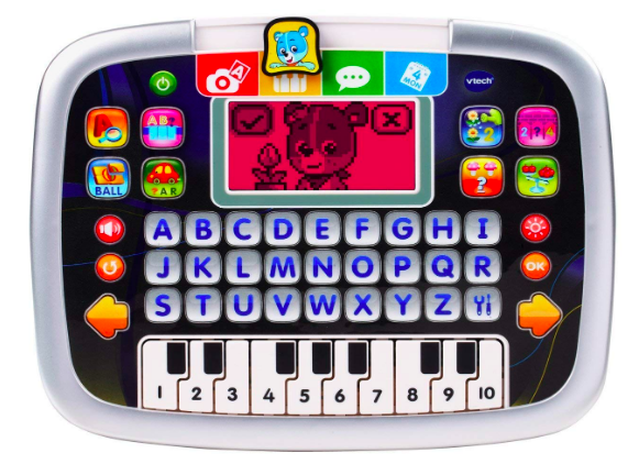 The VTech Little Apps Tablet has a kid-friendly design