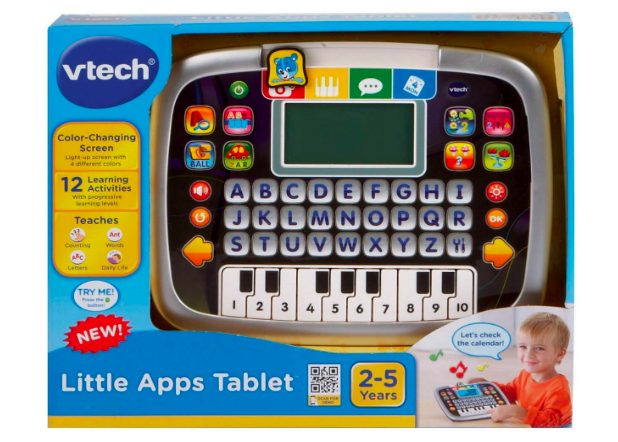 VTech Little Apps Tablet in the box