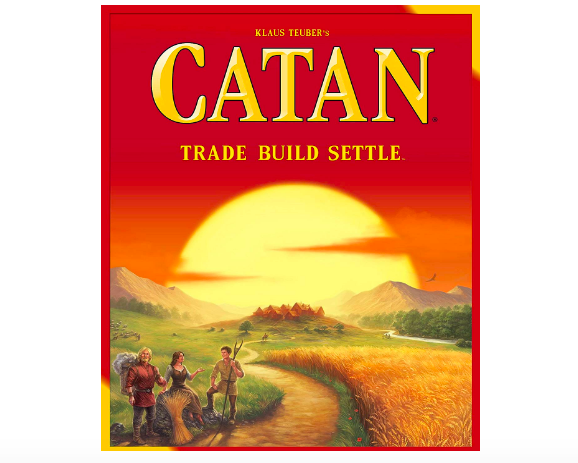 Catan is the new version of the popular board game The Settlers of Catan.