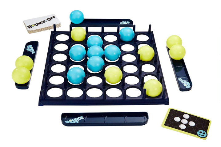 Mattel Games Bounce-Off Game game components