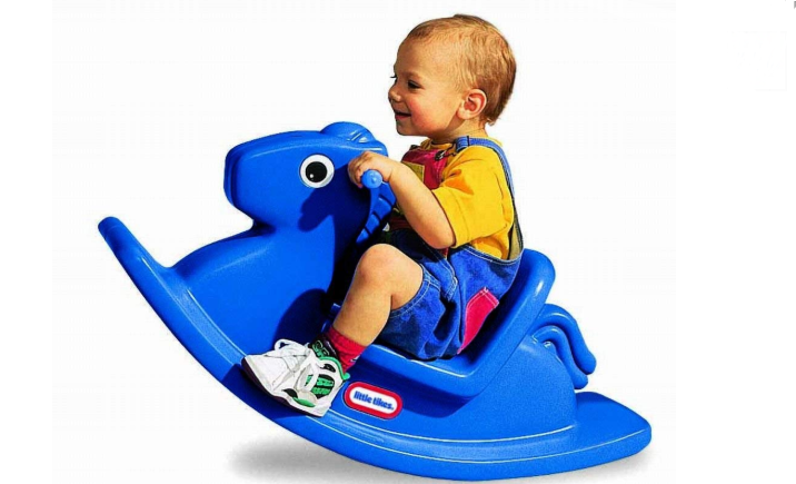 Toddlers love the Little Tikes Rocking Horse.