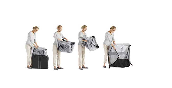 The BabyBjorn Travel Crib Light is easy to assemble.