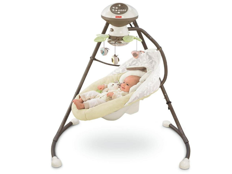 The Fisher Price Cradle 'n Swing is manufactured with premium materials.