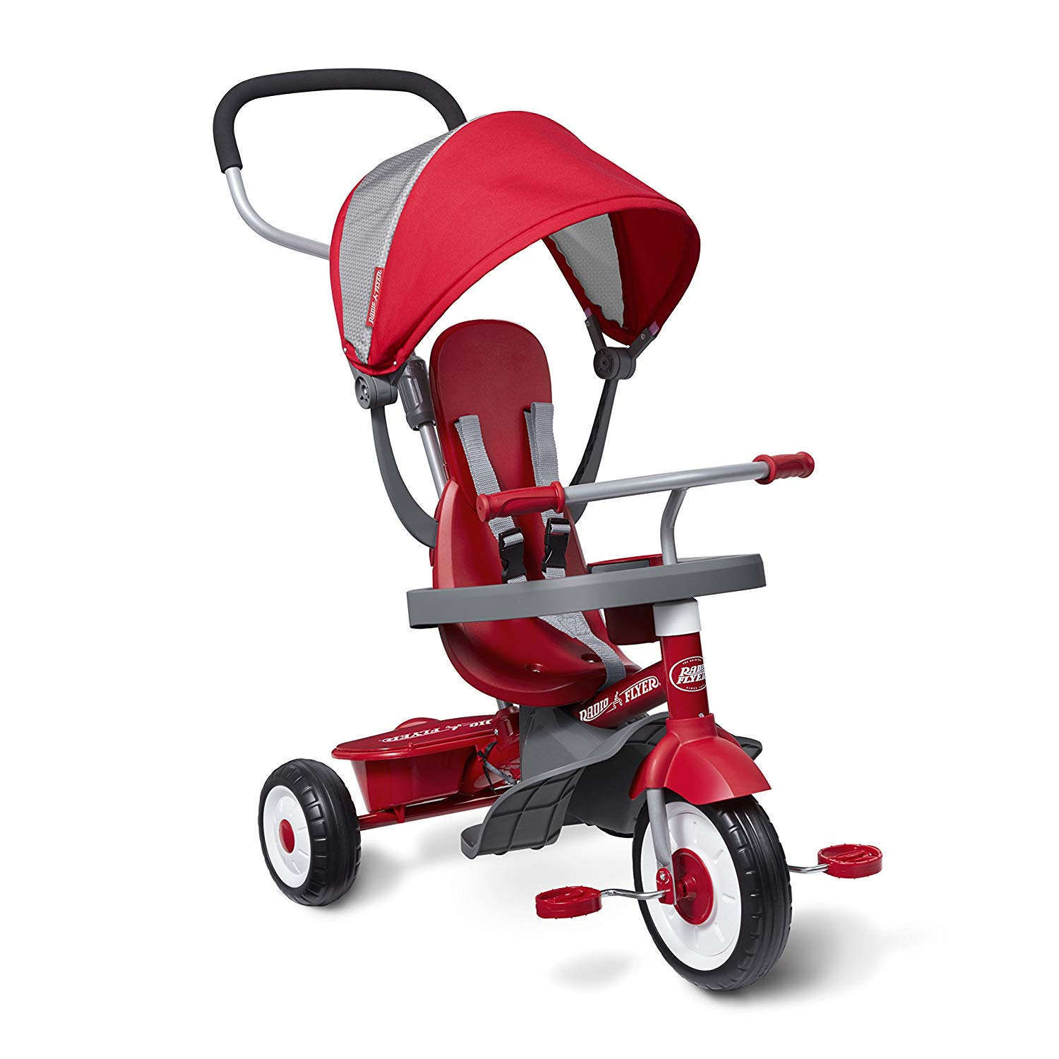 The multi-functional Radio Flyer 4 In 1 Stroll N Trike
