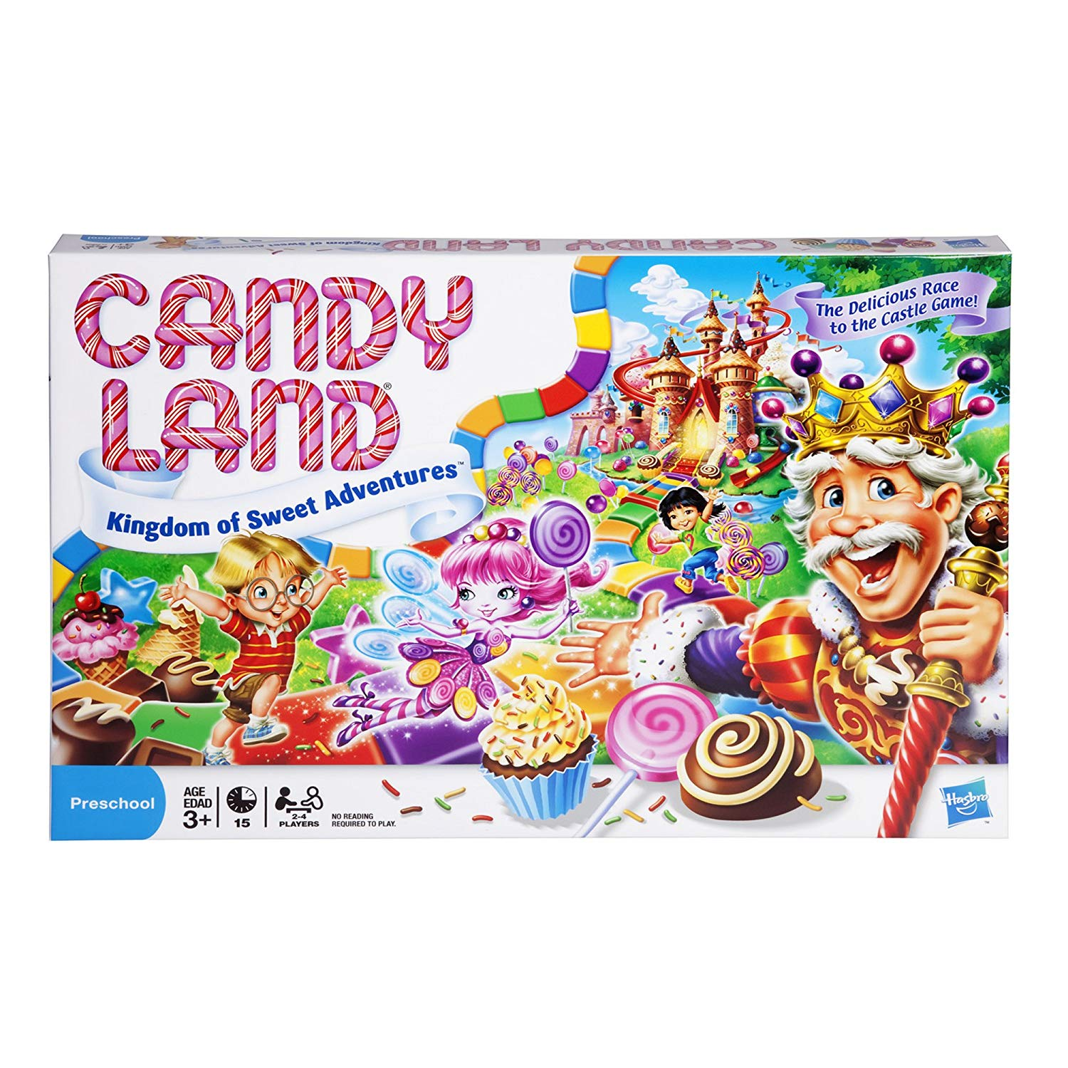 Candy Land Kingdom of Sweet Adventures is an updated version of the beloved boardgame