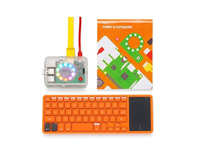 The Kano Computer Kit comes with all the necessary elements to build your own computer