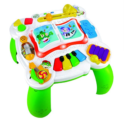 LeapFrog Learn & Groove Musical Table features 15 activities.