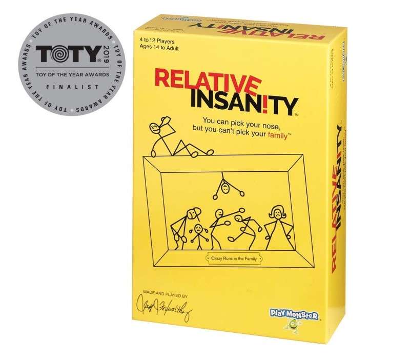 Relative Insanity Game  packacing