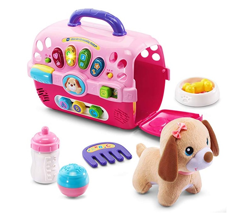 VTech Care for Me Learning Carrier comes with a set of accessories