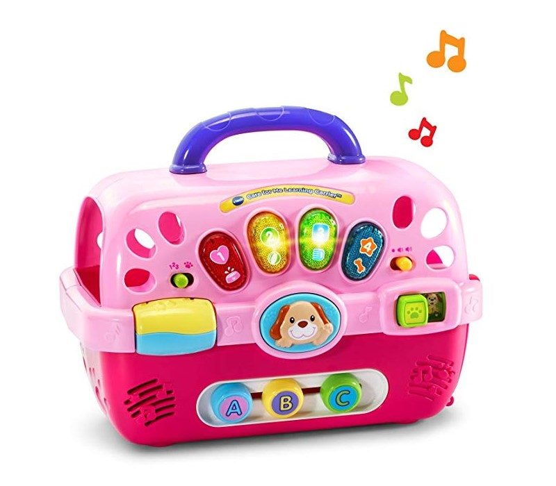VTech Care for Me Learning Carrier is also a music box
