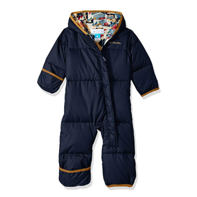 columbia snuggly baby snowsuit water-resistant
