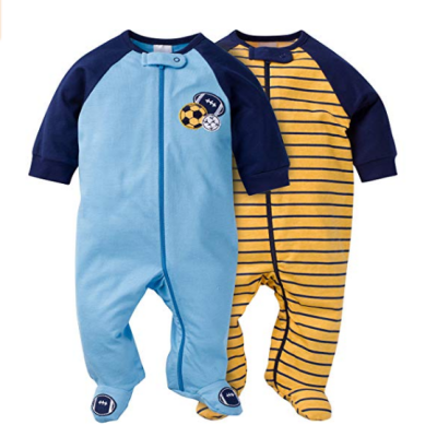 gerbers sleep n' play baby pajamas cotton