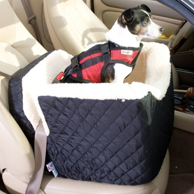 snoozer lookout dog car seat security strap