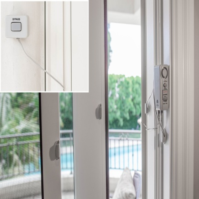 Techko S187D Best Pool Alarms  hanging