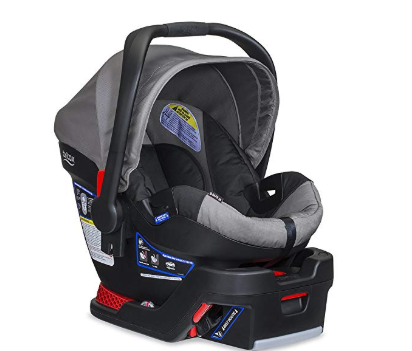 The Britax B-Safe 35 has a convenient carrying handle.