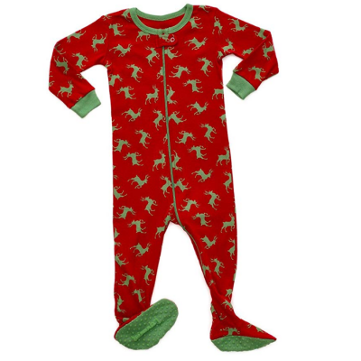 leveret christmas baby pajamas cotton