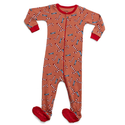 leveret christmas baby pajamas tagless fabric