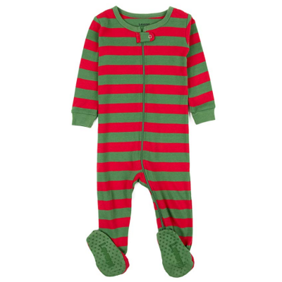 leveret striped baby boys pajamas cotton