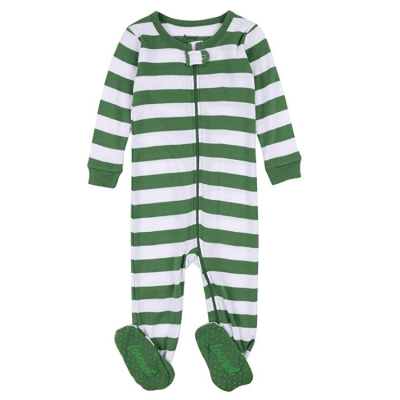 leveret striped baby boys pajamas christmas