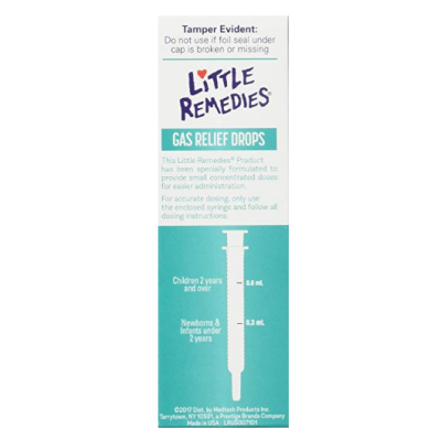 little remedies berry baby gas drops back