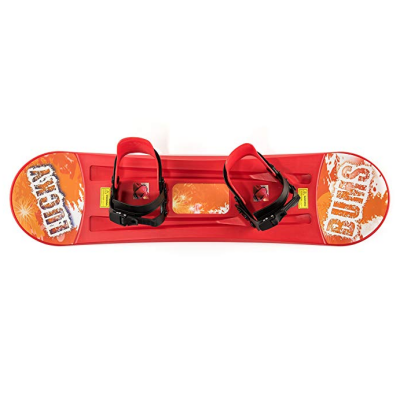 lucky bums plastic snowboard for kids top