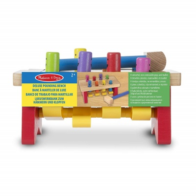 10 Month Old Toys Melissa Doug Wooden Bench Package