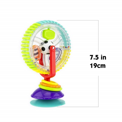 Sassy Wonder Wheel Activity Center Cheap Baby Toys size details