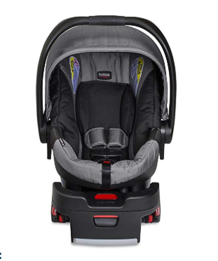 The Britax B-Safe 35 accommodates infants from 4 to 35 lbs.