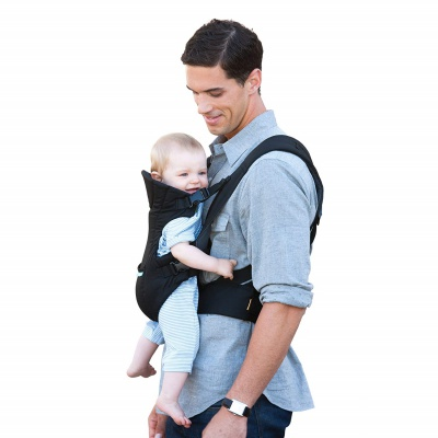 infantino flip front 2 back baby carrier side