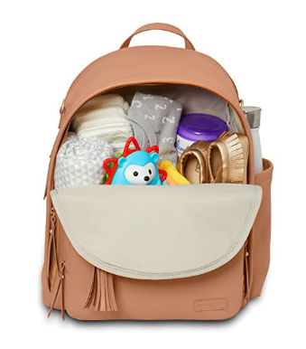 The Skip Hop Backpack Diaper Bag fits baby's and Mom's essentials.