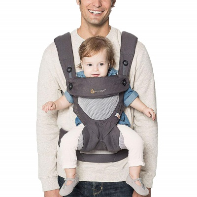 ergobaby 360 baby carrier grey