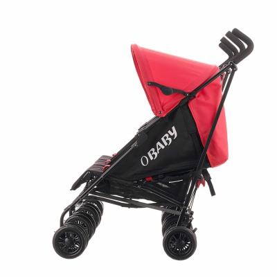 obaby mercury triplet stroller side view