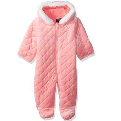 us oplo assn girls pram baby snowsuit polyester