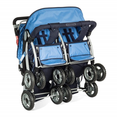 childcraft sport quad triplet stroller folding