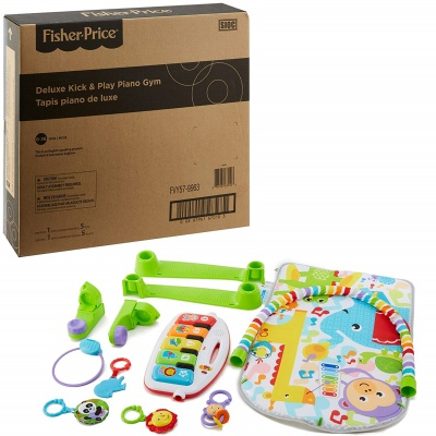5 Month Old Toys Fisher Price Deluxe Kick n Play Box