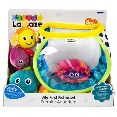 4 Month Old Toys Lamaze First Fishbowl Package