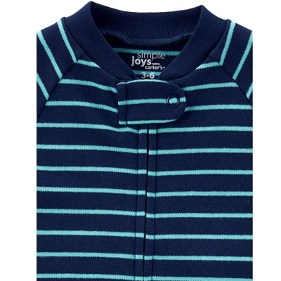 simple joys carter's baby pajamas zipper