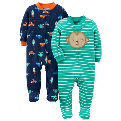 simple joys carter's baby pajamas footed