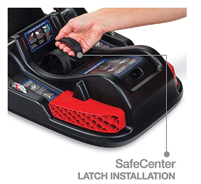 The Britax B-Safe 35 is easy to install.