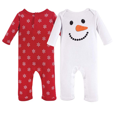 hudson cotton suit baby pajamas christmas set