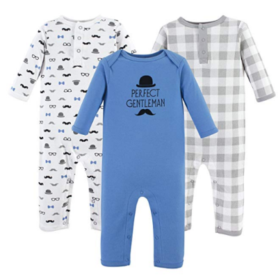 hudson cotton suit baby pajamas boys