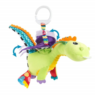4 Month Old Toys Lamaze Flip Flap Dragon Clip