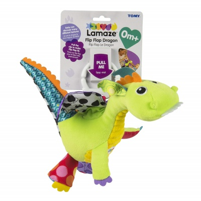 4 Month Old Toys Lamaze Flip Flap Dragon Package