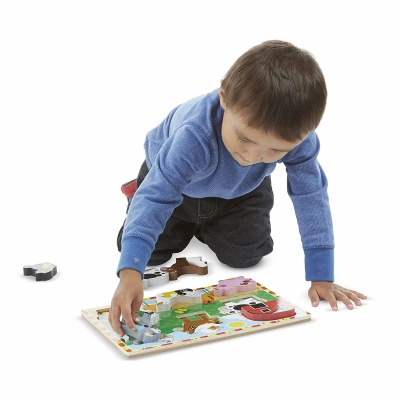 9 Month Old Toys Melissa Doug Wooden Puzzle Kid