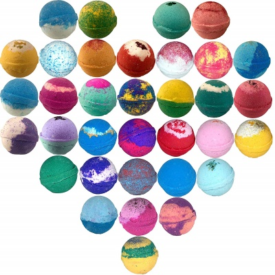 lotion fast bath bombs for kids set