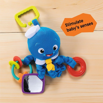 4 Month Old Toys Baby Einstein Activity Octopus Clip